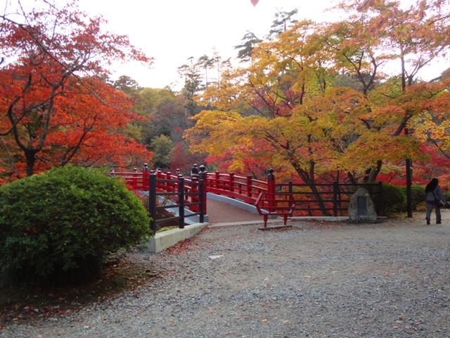 もみじ谷観月橋