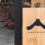 shop&cafeと桃